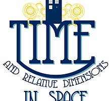 TARDIS - TIME AND RELATIVE DIMENSIONS by paton