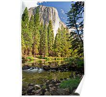 El Cap Reflections Poster