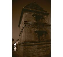 The Entrance to the Step Well, Ahmedabad Photographic Print