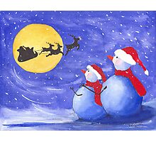 Santa's Helpers Photographic Print