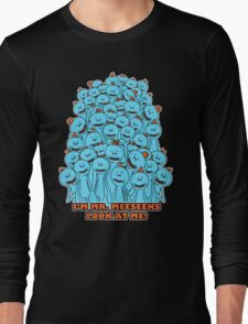 Mr. Meeseeks - Rick and Morty Long Sleeve T-Shirt