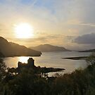 Eilean Donan at Sunset by Chuck Zacharias