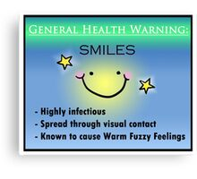 Infectious Smile Canvas Print