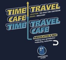 Time Travel Cafe One Piece - Short Sleeve