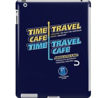 Time Travel Cafe iPad Case/Skin