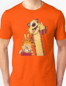 Calvin and Hobbes Wacky Comic T-Shirt