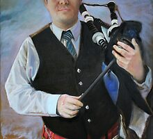 Bagpipe from Scotland by Gerard Mignot