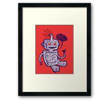 Beep Boop! Framed Print