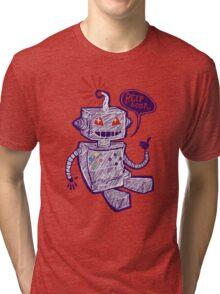 Beep Boop! Tri-blend T-Shirt