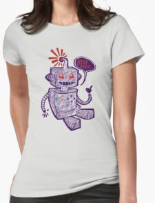 Beep Boop! Womens Fitted T-Shirt