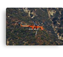 Helicopter 732 Canvas Print