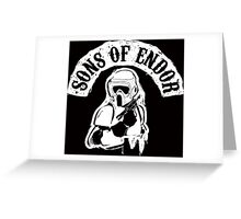 Sons Of Endor Greeting Card