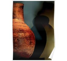 Pottery With Shadow Poster