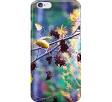 Woodland Bush Berries iPhone Case/Skin