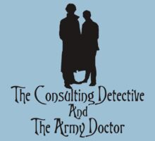 The Consulting Detective and His Army Doctor Kids Clothes