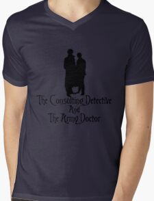 The Consulting Detective and His Army Doctor Mens V-Neck T-Shirt