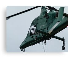 KMAX Heavy Lift Helicopter Canvas Print