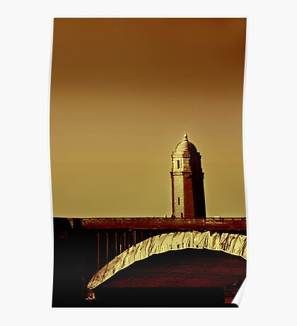 A Bridge of Two Cities Poster