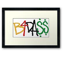 B4.DA.$$ Framed Print