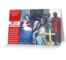 Josef Moroder Lusenberg's The Adoration Greeting Card