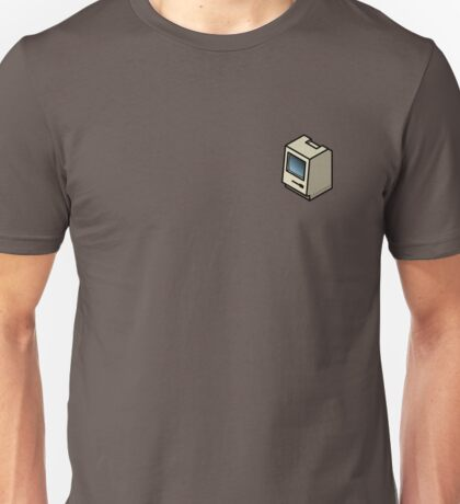 Vintage Mac 128 (on your breast) Unisex T-Shirt