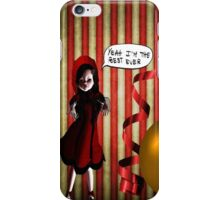 Creepy dancing doll holidays iPhone Case iPhone Case/Skin