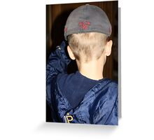 Red Sox Fan Greeting Card