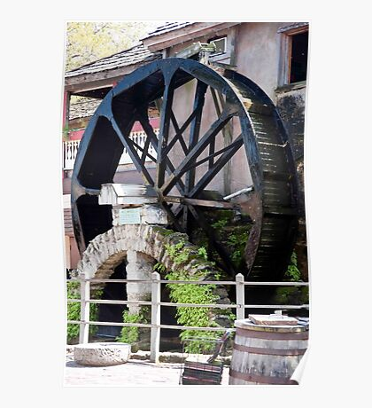 Paddle Wheel Power Poster