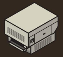 The Original Apple Laserwriter (on your breast) by Zern Liew