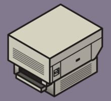 The Original Apple Laserwriter (on your breast) Kids Clothes
