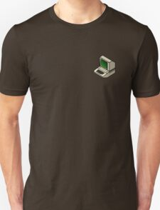 The Classic Apple ][ (on your breast) Unisex T-Shirt