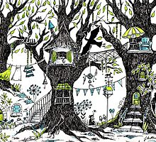 Tree house stories by Judit Matthews
