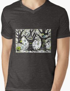 Tree house stories Mens V-Neck T-Shirt