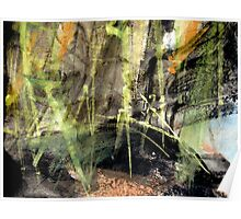 """""""chikurin""""..... light piercing the forest floor Poster"""