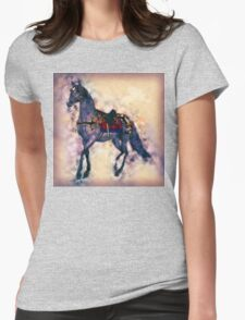 Tranquil Star Womens Fitted T-Shirt