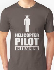 Helicopter Pilot In Training remote control helicopter T-Shirt