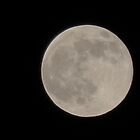 Full Moon - 10/10/11 - 18X zoom by Scott Mitchell
