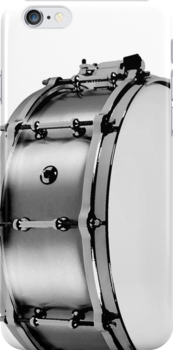 brushed aluminum snare by tinncity