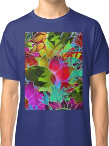 Floral Abstract Artwork Classic T-Shirt
