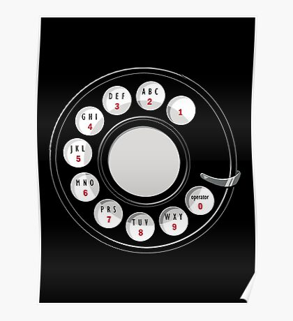 Rotary Me | Old Rotary Phone Poster