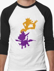 Spyro and Crash Men's Baseball ¾ T-Shirt