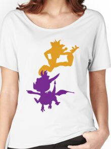 Spyro and Crash Women's Relaxed Fit T-Shirt