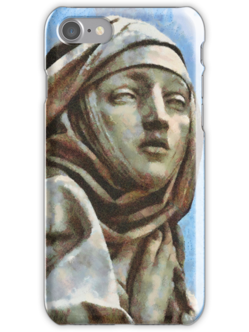 St Catherine iPhone Case by leapdaybride