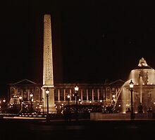 Place de la Concorde  195709040017 by Fred Mitchell