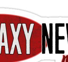 Galaxy News Radio Logo Sticker