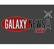 Galaxy News Radio Logo Photographic Print