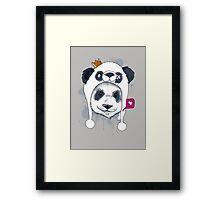 Double Panda! Framed Print