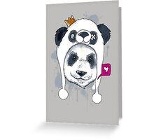 Double Panda! Greeting Card