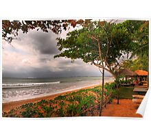 Relaxing,Jimbaran,Bali,Indonesia Poster