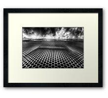 Cloudscraper-Wide Framed Print